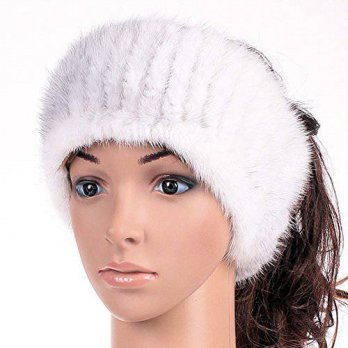 [macyskorea] FURTALK Genuine Winter and Autumn Mink Fur Headband Women Winter(white)/16126389