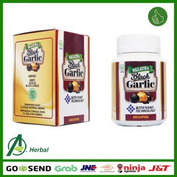 Walatra Black Garlic Asli Original - Ekstrak Bawang Putih Hitam With Nano Technology