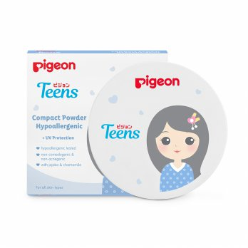 (POP UP AIA) PIGEON Compact Powder Hypo 14Gr - Gold