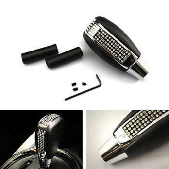 [macyskorea] IJDMTOY iJDMTOY Bling Bling Crystal Rhinestone Leather Shift Knob For Car Man/16109864