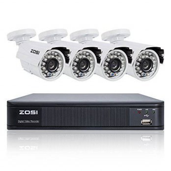 [macyskorea] ZOSI AHD Security Surveillance System ,4PCS 720P(1280TVL) Weatherproof Long N/15776100