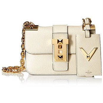 [macyskorea] Valentino Womens Chain Shoulder Strap Bag, Ivory/13755580