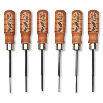 [macyskorea] FreeEagles 6 Precision Mini Screw Drivers - Durable Chromium Vanadium Forge S/16091938
