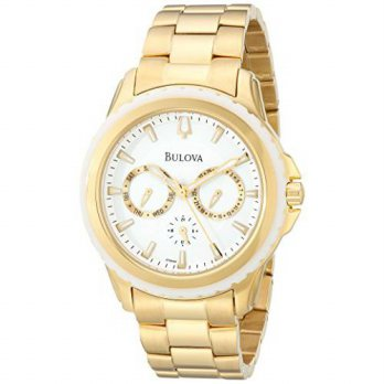 [macyskorea] Bulova Womens 97N103 Analog Display Analog Quartz Gold Watch/15895692