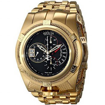 [macyskorea] Invicta Mens 16956 Bolt Analog Display Swiss Quartz Gold Watch/15895777