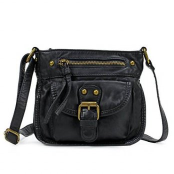 [macyskorea] Scarleton Mini Washed Belt Accent Crossbody Bag H181501 - Black/14499741