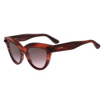 [macyskorea] Valentino Sunglasses - V712S - Striped Brown/Scarlet/14265566