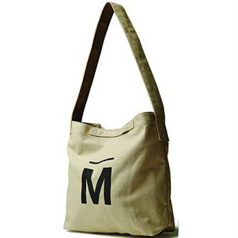 [macyskorea] BYSUMMER MARKPLAN Canvas Cotton Crossbody Messenger Shoulder Bag (Beige)/14263961