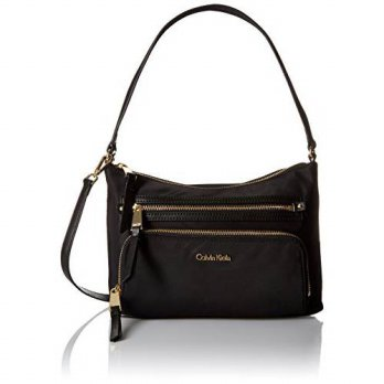 [macyskorea] Calvin Klein Zip Around Saffiano Satchel/13775456