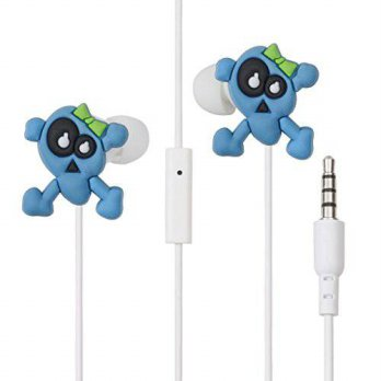 [macyskorea] LolaChat Skull In-ear earbuds Fulmine by Lolachat with remote and Microphone./16099565