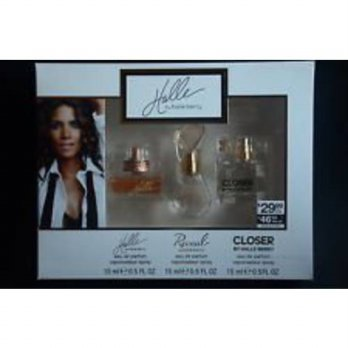 [macyskorea] 3 Piece Gift Set by Halle Berry ~ Halle .5 Oz. + Reveal .5 Oz. + Closer .5 Oz/15922298