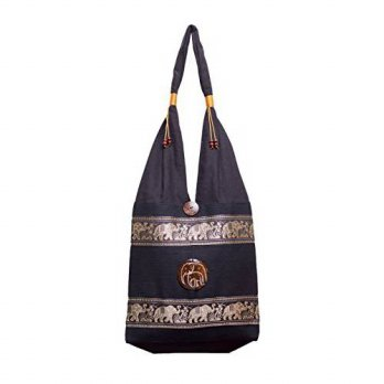 [macyskorea] BenThai Products BTP Elephant Parade Cotton Shoulder Bag Purse Hippie Hobo Et/14263948