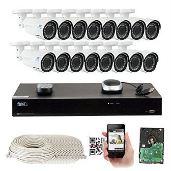 [macyskorea] GW Security Inc 16 Channel H.265 8MP 4K NVR 4MP Network PoE Security System -/15776234