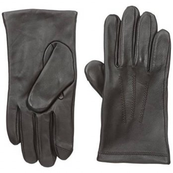[macyskorea] Touchpoint Mens 3 Point Leather Glove, Brown, Large/13776219