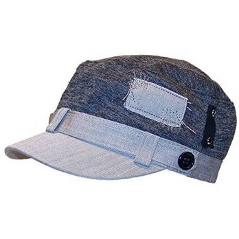 [macyskorea] David & Young Womens Elastafit Cadet Hat W/Sewn Patches & Strap (One Size) - /13776813
