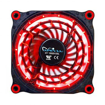 [macyskorea] Apevia APEVIA 12L-DRD 120mm Silent Black Case Fan with 15 x Red LEDs & 8 x An/15838423