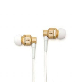 [macyskorea] LSTN Sound LSTN Avalon Bamboo Wood Noise Isolating Earbuds with In-line Micro/16099293
