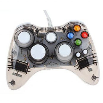 [macyskorea] Kycola GC20 Dual Vibration Wired Gamepad Controller Transparent LED for Micro/15703093
