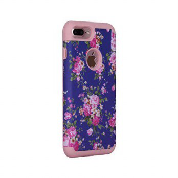 [macyskorea] iPhone 7 Plus Cover Case,SAVYOU Orchid Design Dual Layer Case With Shock Abso/15775572