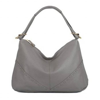 [macyskorea] YALUXE Womens Soft Cowhide Leather Tote Hobo Style Large Shoulder Bag Grey/15767560