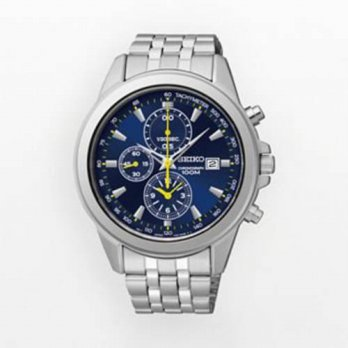 [macyskorea] Seiko Watches Seiko Mens Stainless Steel Chronograph Watch Blue Dial SNDF03/15866377