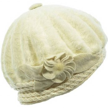 [macyskorea] Hand By Hand Aprileo Women Floral Beret Hat Double Layer Soft Knitted Beanie /15767845