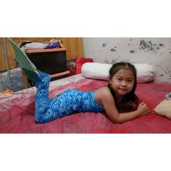 Baju Renang mermaid 8th+