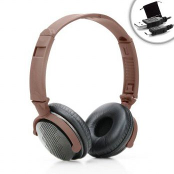 [macyskorea] Accessory Power AudioLUX WD Over Ear Headphones with Real Walnut Wood, In-lin/16075252