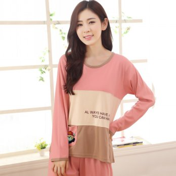 Piyama Sweet Couple Wanita Size M - Pink