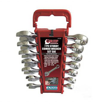 [macyskorea] GRIP 89096 Stubby Combo Wrench Set, SAE, 7-Piece/16091209