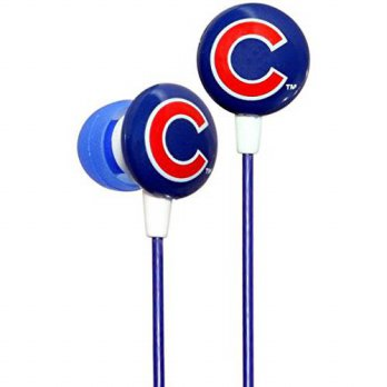 [macyskorea] IHip iHip MLF10169CHC MLB Chicago Cubs Printed Ear Buds, Blue/Red/16075237
