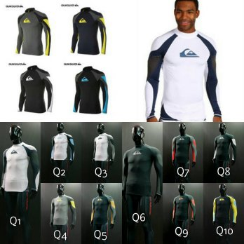 Produsen Pakaian Renang,Fitness,Sepeda QUIKSILVER COMPRESSION TRILLA