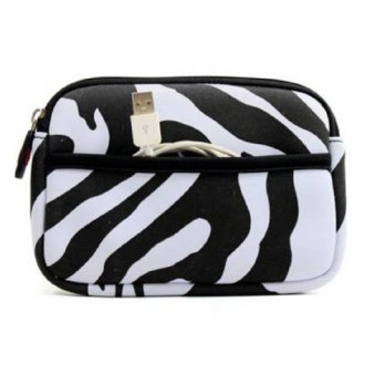 [macyskorea] Kroo Carrying Sleeve for Portable Camera (Zebra)/15775420