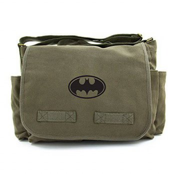 [macyskorea] Army Force Gear Batman Bat Symbol Army Heavyweight Messenger Shoulder Bag, Bl/15766023