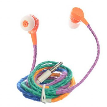 [macyskorea] OMGi ASE30002 Braided Ear-Bud in Ear Headphone Multicolor Headset with Noise /15858554