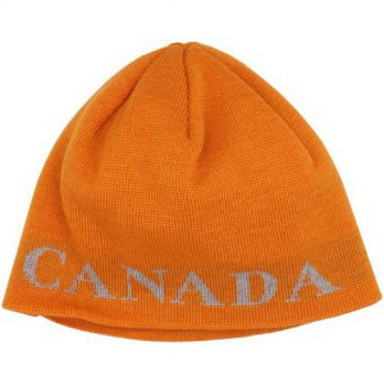 [macyskorea] Canada Goose Mens Boreal Beanie (One Size, Sunset Orange)/14500537