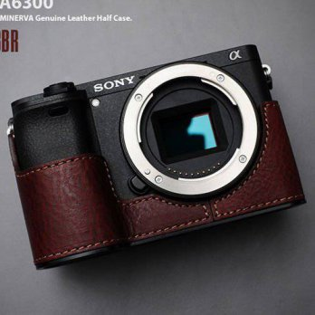 [macyskorea] LIMS SY-A63BR (Brown) Genuine Leather Camera Half Case for SONY A6300 ILCE-63/15775318