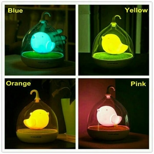 Lampu Tidur LED Touch Night Light - Birdcage Lamp