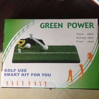 Golf Green Power Swing Mate, Shoot, and Putting for Exercise