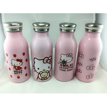 Termos Thermos Air Panas Hello Kitty Wadah Tempat Botol Air Panas Praktis Import Best Seller