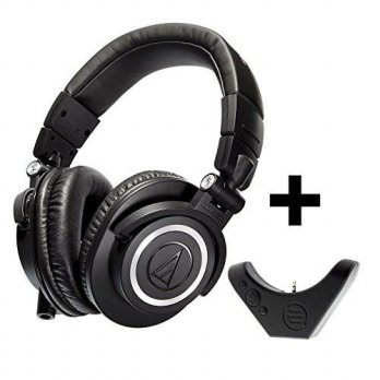 [macyskorea] Audio-Technica ATH-M50x Professional Studio Monitor Headphones with Bluetooth/14934150