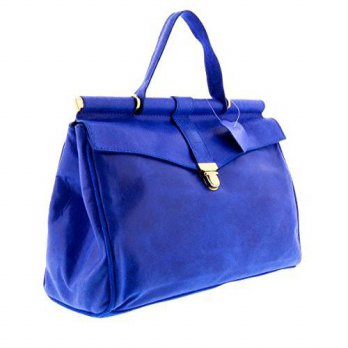 [macyskorea] H&S Collection HS2071 VIVI Blue Leather Top Handle/Shoulder Bag/14931739