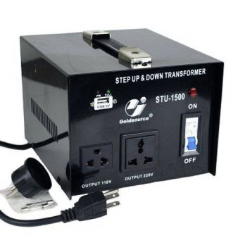 [macyskorea] Goldsource STU-1500 Step Up & Down Voltage Converter Transformer with 5V USB /16090576