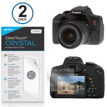 [macyskorea] Canon EOS Rebel T6i Screen Protector, BoxWave [ClearTouch Crystal (2-Pack)] H/15023658