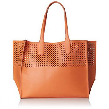 [macyskorea] Emilie M. La Mar Perforated Tote, Peach/Melon, One Size/14942748
