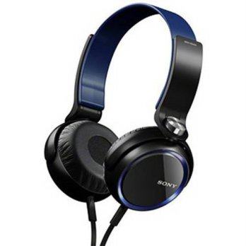 [macyskorea] Sony Over The Ear XB-Series Extra Bass Headphones (Blue)/14934312