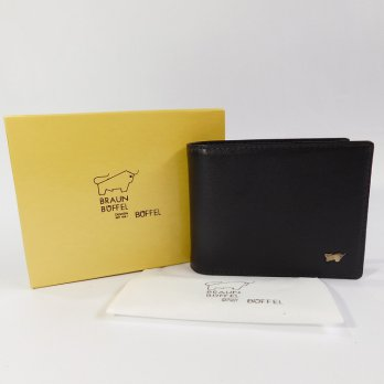Braun Buffel Dompet Kulit Import 5211 Black