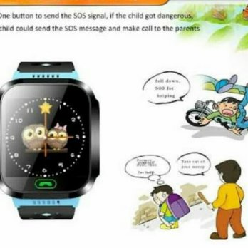Jam Tangan GPS Anak GPS Tracker for Kids Smart watch