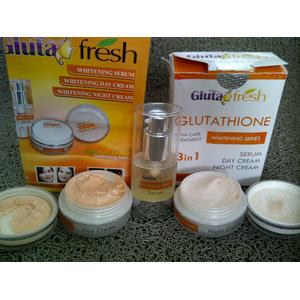 Gluta Fresh / Paket Whitening Cream 3 in 1