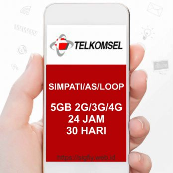 Telkomsel Data FullMax 5GB 24Jam 30Hari All Jaringan